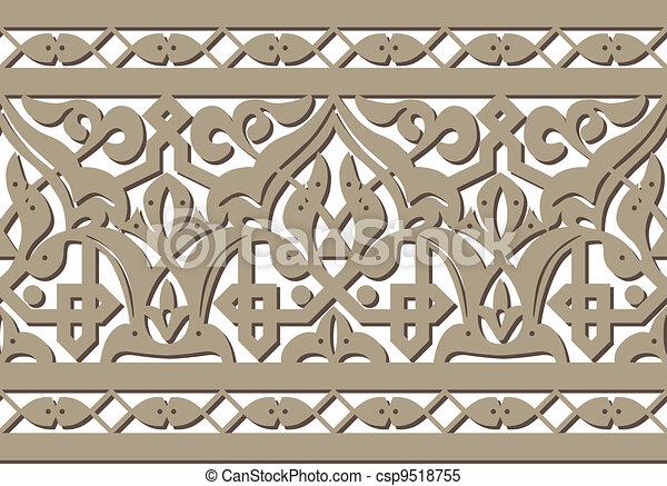 horizontal seamless pattern - csp9518755