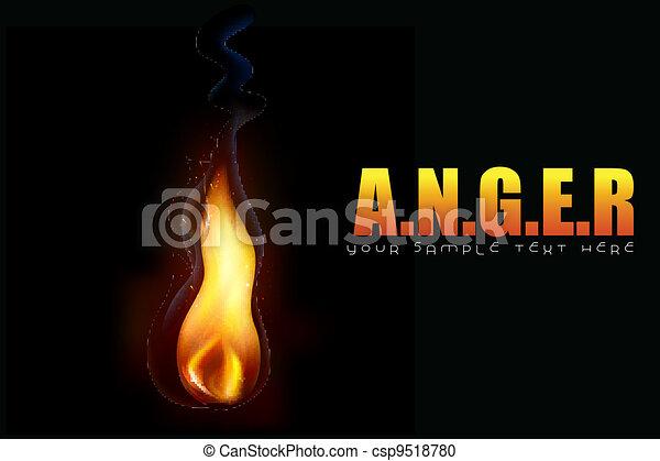 Anger Background - csp9518780