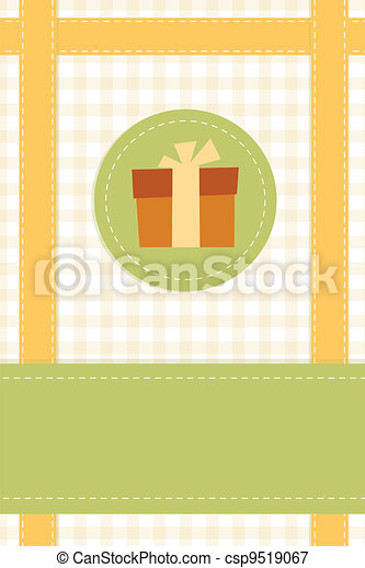 gift card template - csp9519067