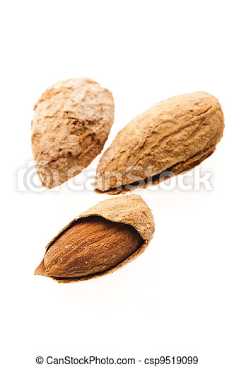 Sweet almonds with kernel  - csp9519099