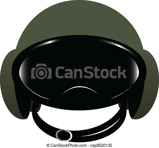 Clipart Vector of Modern helmet - Accessory motorcycle ...