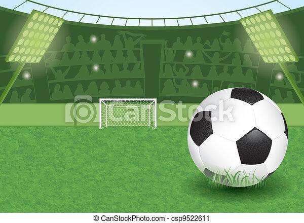 Soccer Stadium - csp9522611