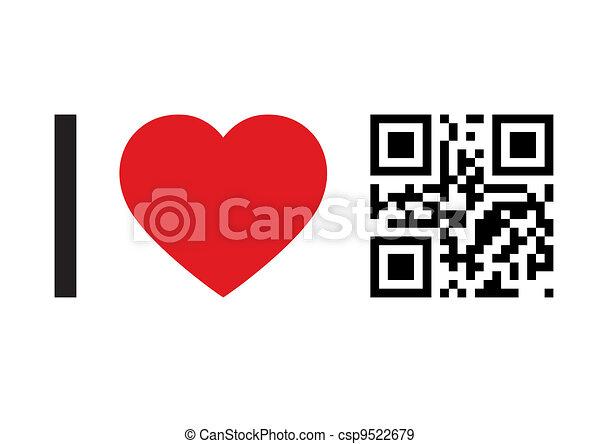 QR Code concept - csp9522679