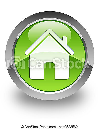 Home glossy icon - csp9523562