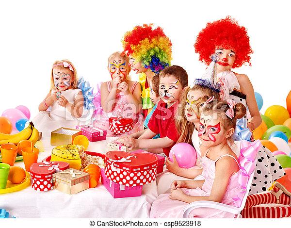 Child birthday party . - csp9523918