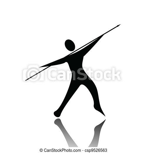 Javelin Throw - csp9526563