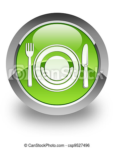Food glossy icon - csp9527496