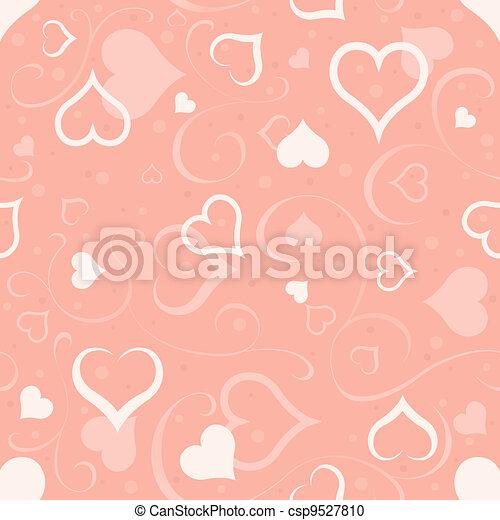 Hearts Texture - csp9527810
