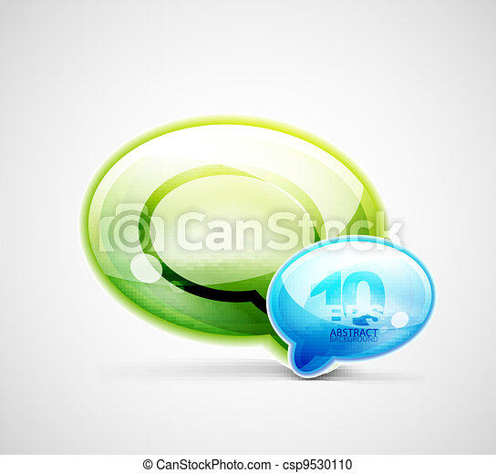 Chat clouds background - csp9530110