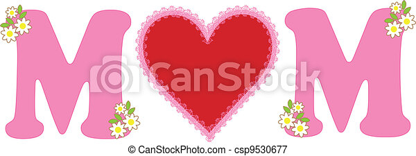Mom Love - csp9530677