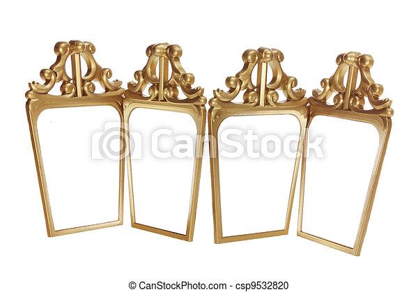 Antique Mirrors - csp9532820
