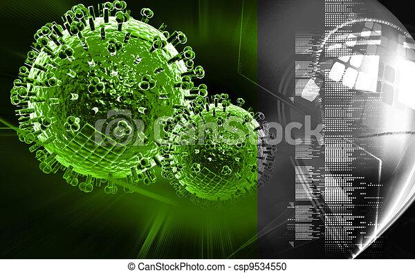 Avian Virus   - csp9534550