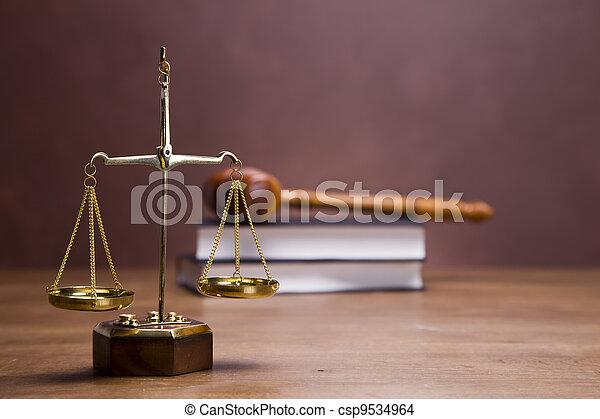 Law Concept - csp9534964