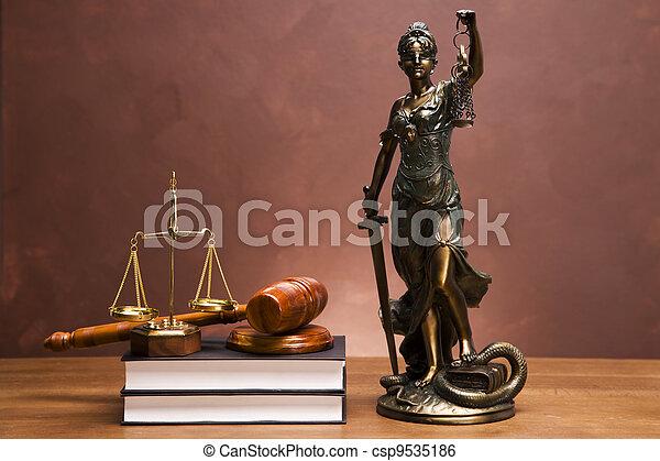 Law Concept - csp9535186