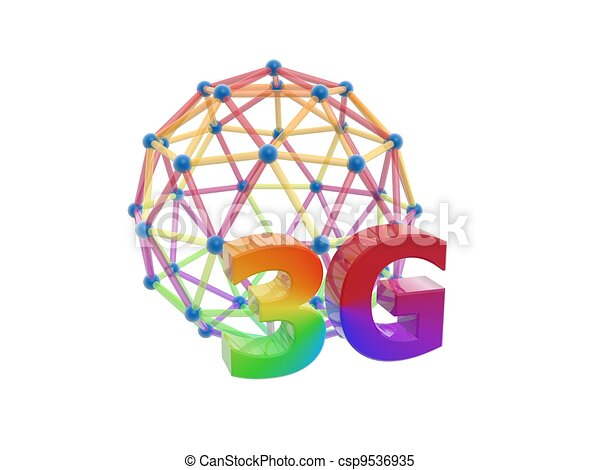 3g network cage ball - csp9536935
