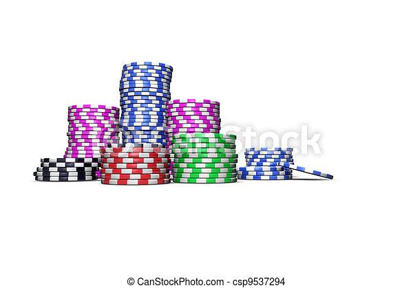 Las Vegas Chips - csp9537294