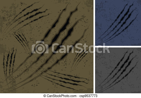 Scratches background - csp9537773