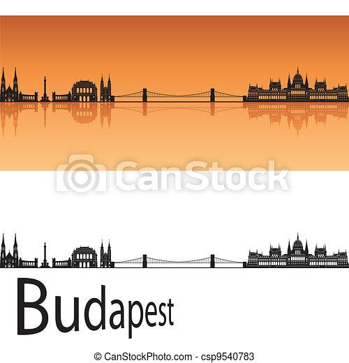 Budapest skyline - csp9540783