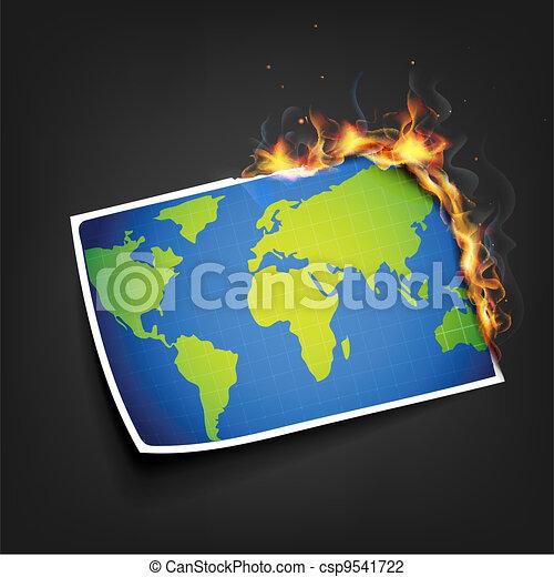 Global Warming - csp9541722