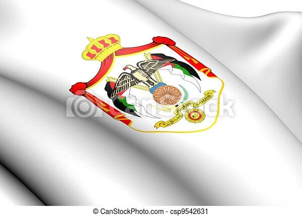 Jordan Coat of Arms - csp9542631