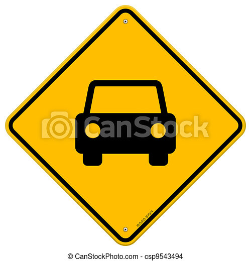 vecteur eps de voiture jaune signe noir v hicule silhouette sur csp9543494. Black Bedroom Furniture Sets. Home Design Ideas