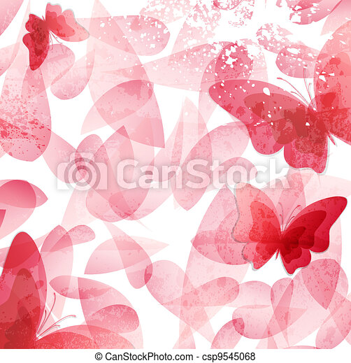 Abstract Invitation vintage floral background.  - csp9545068