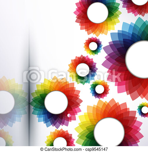 Vector abstract creative illustration - csp9545147