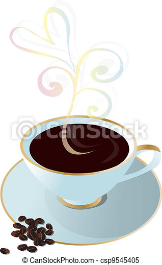 Cup of coffee - csp9545405