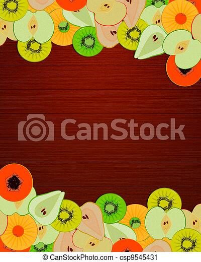Fruity message - csp9545431
