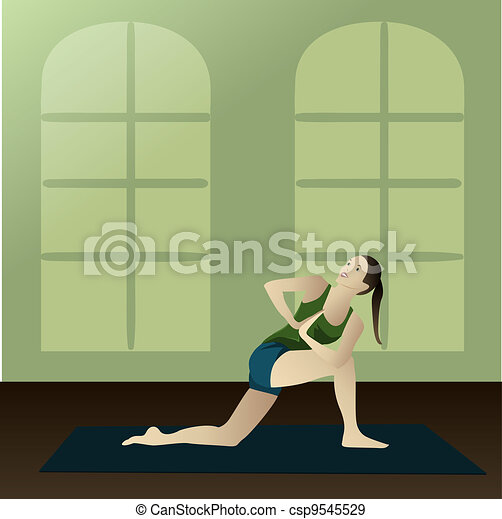 Revolved Side Angle Pose - csp9545529