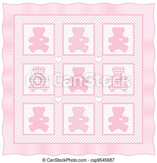 pink baby quilt | Flickr - Photo Sharing!