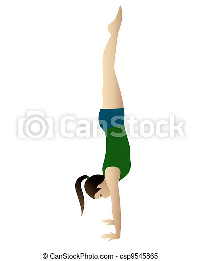 Handstand Clipart