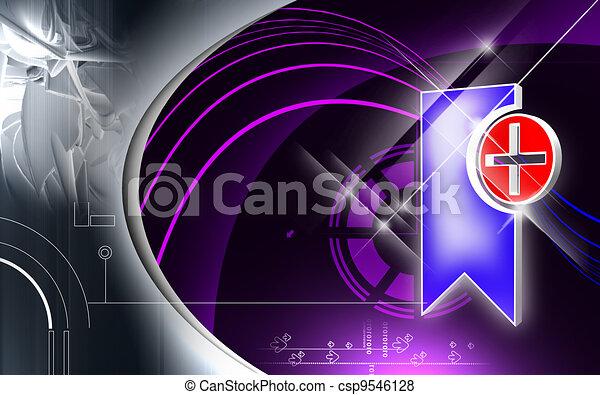Clinical symbol - csp9546128