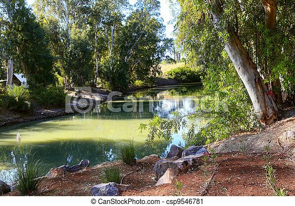 Jordan river - csp9546781