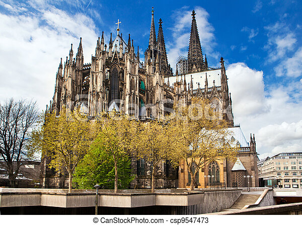 Cathedral of Cologne in Germany - csp9547473