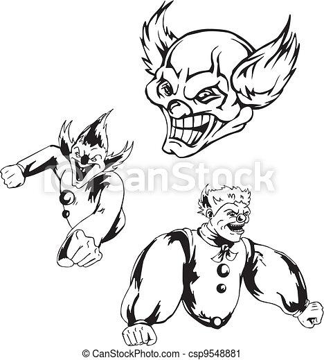 Spiteful jokers - csp9548881