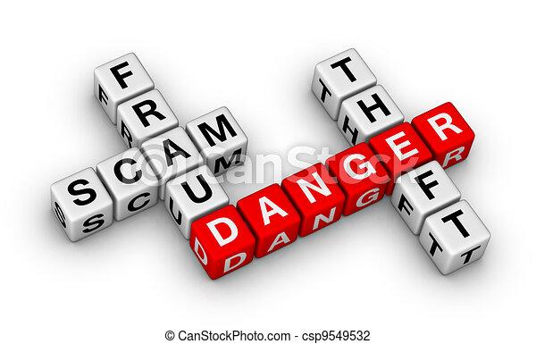 fraud, scam, theft - csp9549532
