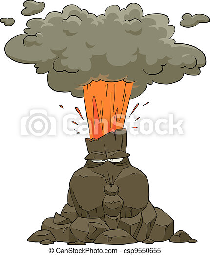 Volcano Illustrations and Clip Art. 3,593 Volcano royalty free ...