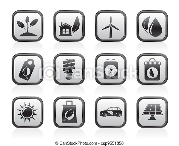 Green and Environment Icons - csp9551858