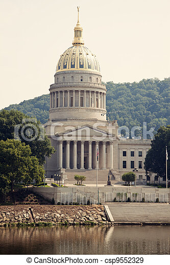 State Capitol Building in Charleston - csp9552329