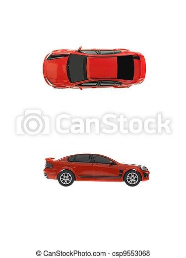 Sports Car - csp9553068