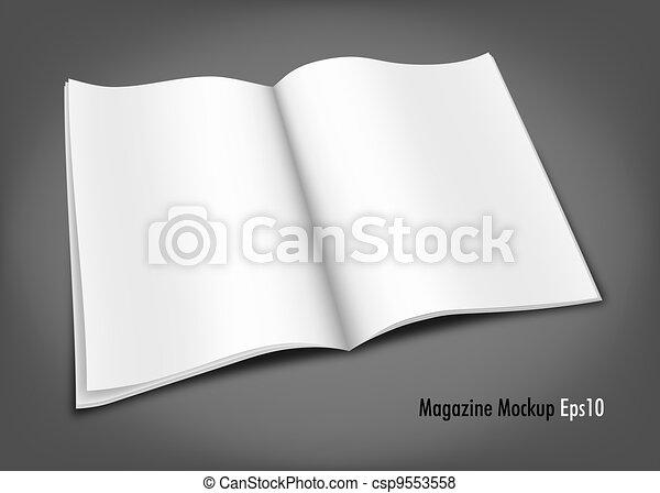 Magazine Mockup - csp9553558