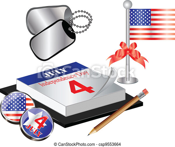 Collection for 4th july - csp9553664