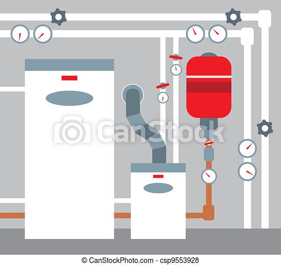 Boiler room - csp9553928