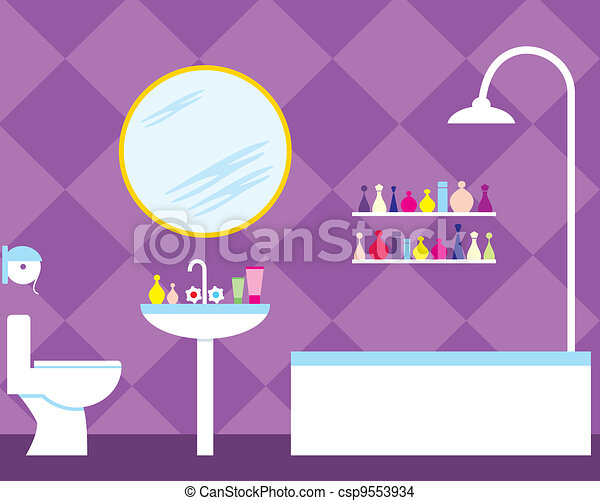 Bathroom - csp9553934