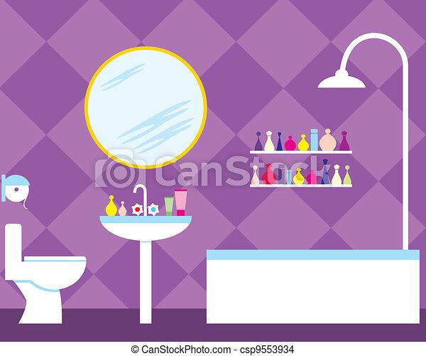Bathroom - csp9553934