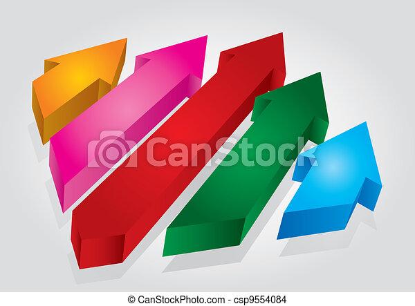 Arrows - csp9554084