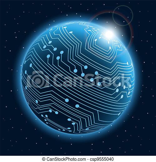 Technology planet - csp9555040