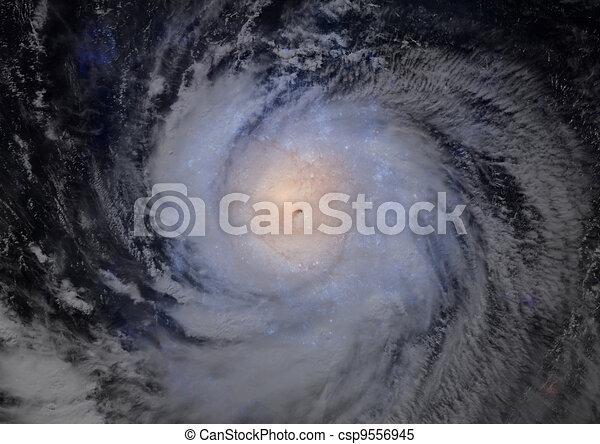 Far away spiral galaxy - csp9556945