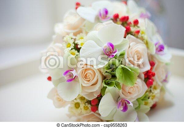 Sériové foto - Svatba, svatební, kytice - sériový snímek ...